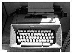 Fundraising Typewriter
